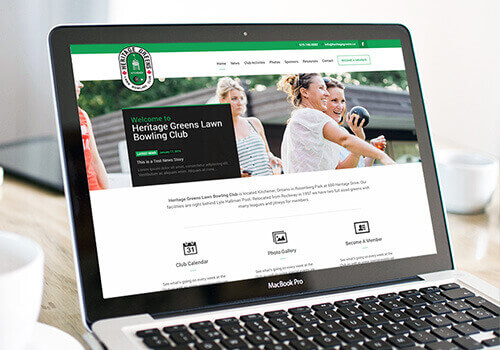 Heritage Greens Lawn Bowling Club Website