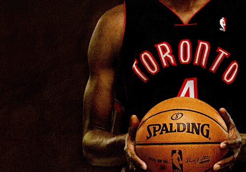 Toronto Raptors Website and Other Collateral